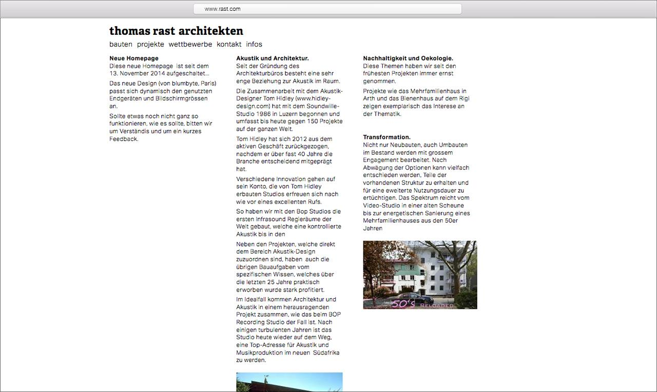 Rast Architekten
